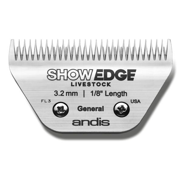 Andis Show Edge 75 mm - klippehøjde 3,2 mm.