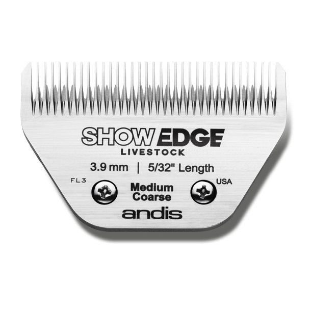 Andis Show Edge 75 mm - klippehøjde 3,9 mm.