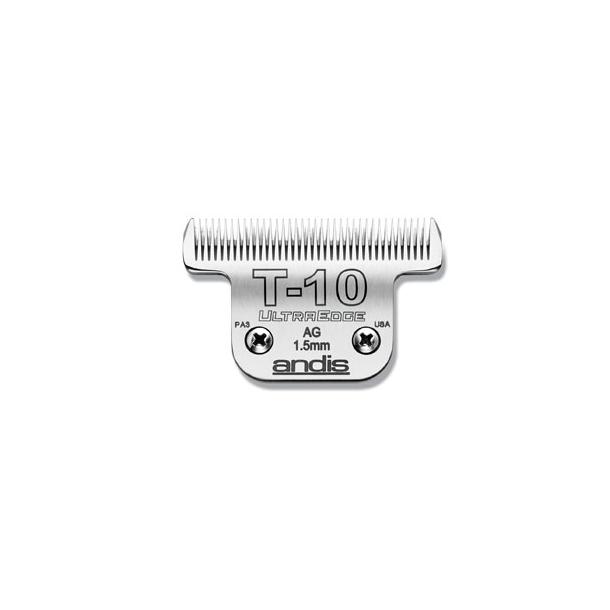 Andis 65 mm - model T10 - klippehøjde 1,5 mm.