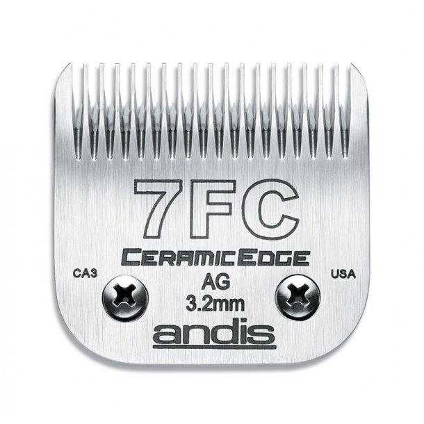 Andis 45 mm - model 7FC -  keramisk overkam - klippehøjde 3,2 mm.