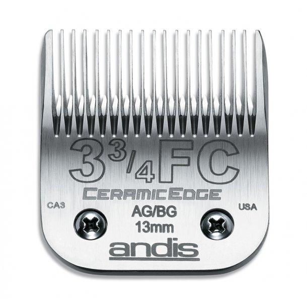 Andis 45 mm - model 3 3/4FC - keramisk overkam - klippehøjde 13 mm.